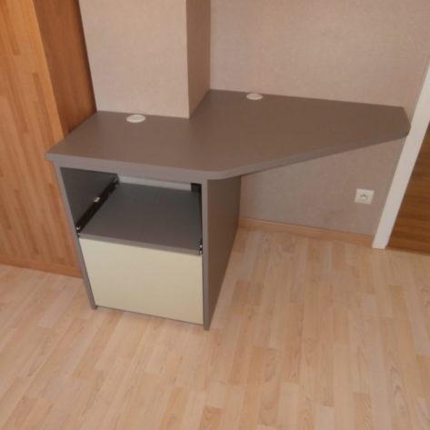Mini bureau d'angle sur mesure