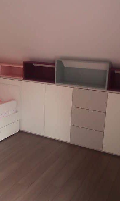 création d'une chambre d'enfant sur mesure